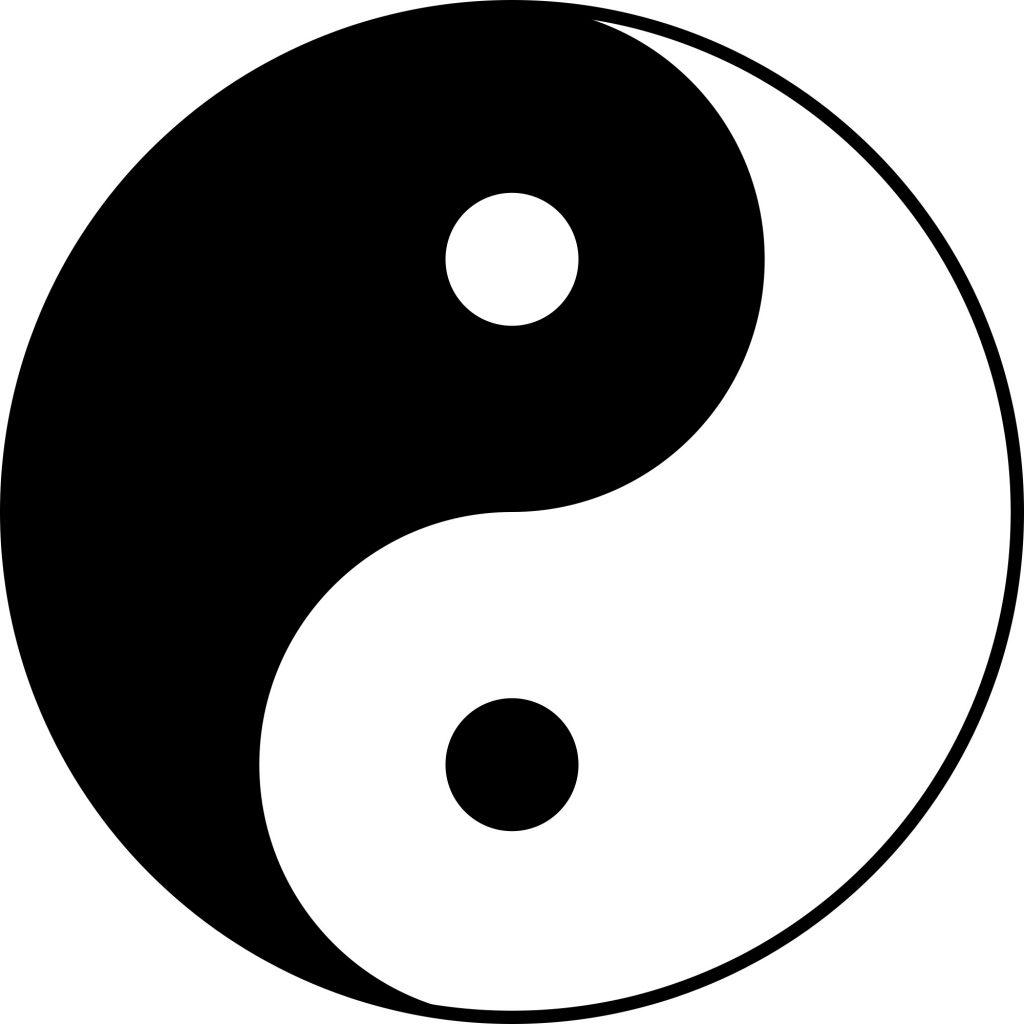 یین و یانگ در فرهنگ شرق آسیا
