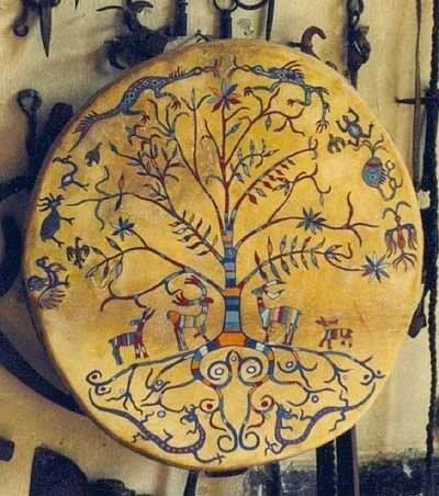 طبل درام شمن اویغوری