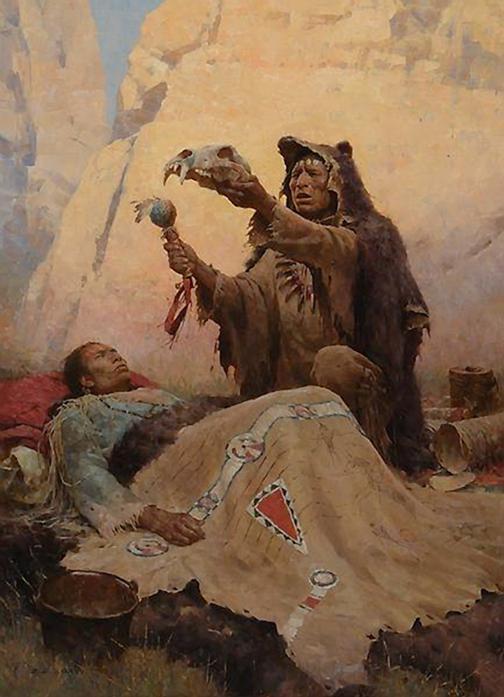 جادو و درمانگری شمن های باستانی